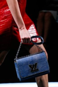 Louis Vuitton Blue/Yellow Epi Twist Bag - Spring 2015