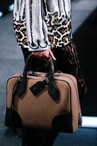 Louis Vuitton Brown Canvas Dora Bag - Spring 2015