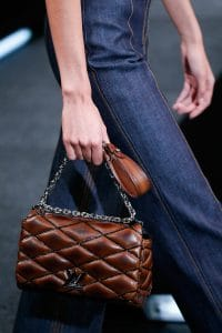 Louis Vuitton Brown Twist Malletage Bag 2 - Spring 2015