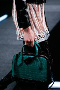 Louis Vuitton Green Crocodile Dora Bag - Spring 2015