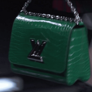 Louis Vuitton Green Crocodile Twist Bag 2 - Spring 2015