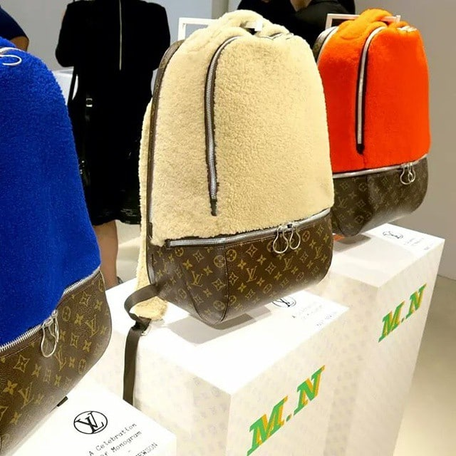 sneak peek at the louis vuitton iconoclasts bags