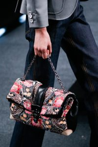 Louis Vuitton Multicolor Flora Folded Chain Bag - Spring 2015