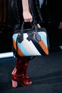 Louis Vuitton Multicolor Stripe Dora Bag - Spring 2015
