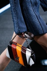 Louis Vuitton Multicolor Stripe Twist Bag - Spring 2015
