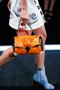 Louis Vuitton Orange Folded Chain Bag - Spring 2015