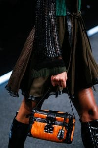 Louis Vuitton Orange Petite Malle Bag - Spring 2015