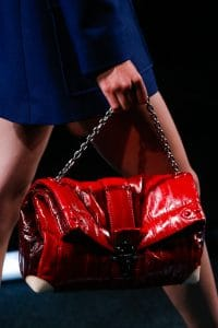 Louis Vuitton Red Folded Chain Bag - Spring 2015