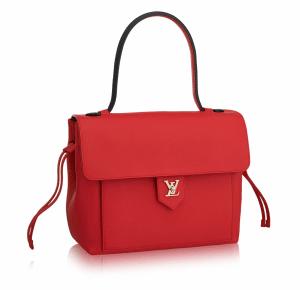 Louis Vuitton Red Lockme PM Bag