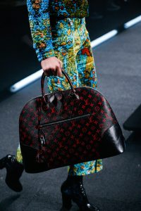 Louis Vuitton Red/Black Monogram Canvas Alma Bag - Spring 2015