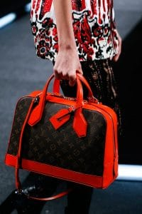 Louis Vuitton Red/Monogram Canvas Dora Bag - Spring 2015