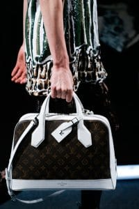 Louis Vuitton White/Monogram Canvas Dora Bag - Spring 2015