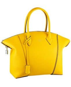 Louis Vuitton Yellow Soft Lockit PM Bag