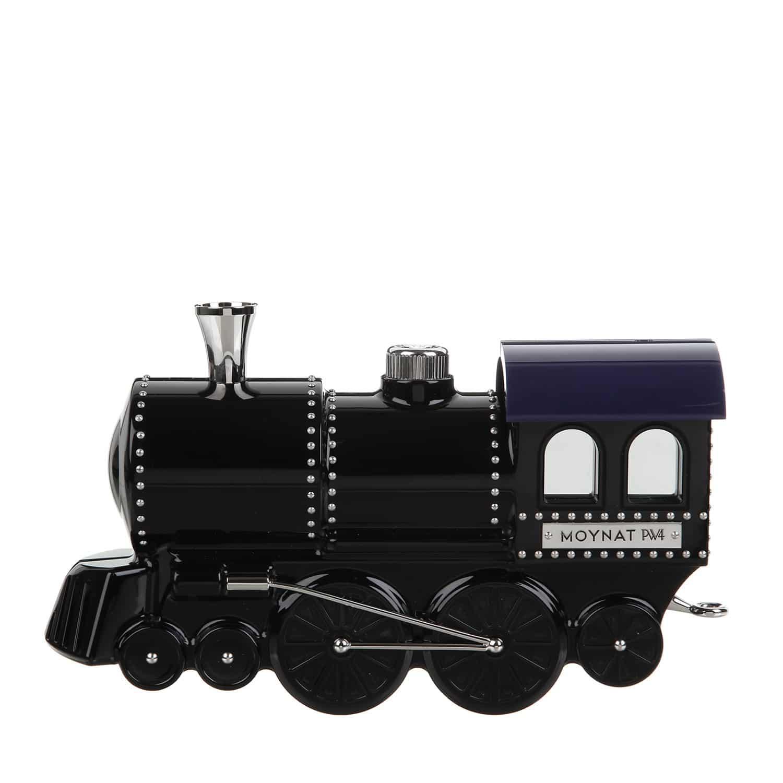 Moynat X Pharrell Williams Black Plexiglas Locomotive Bag