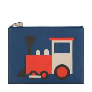 Moynat x Pharrell Williams Bleu/Rouge Train Pouch Small Bag