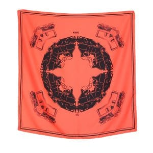 Moynat x Pharrell Williams Orange Medium Train Scarf