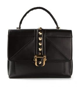 Paula Cademartori Black Studded Faye Bag