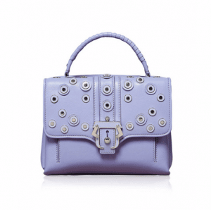 Paula Cademartori Purple with Rivets Petite Faye Bag