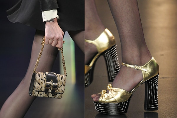 Saint Laurent Spring   Summer 2015 Runway Bags and Shoes  72109148ebbfa