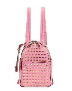 Valentino Pink Rockstud Mini Backpack Bag - Cruise 2015