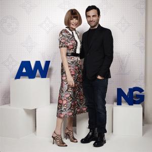 Anna Wintour and Nicolas Ghesquiere