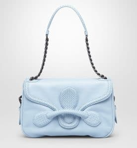 Bottega Veneta Ciel Micro Intreciaato Calf Rialto Bag - Cruise 2015