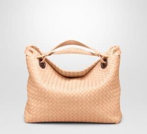 Bottega Veneta Flamingo Intrecciato Nappa Bag - Cruise 2015