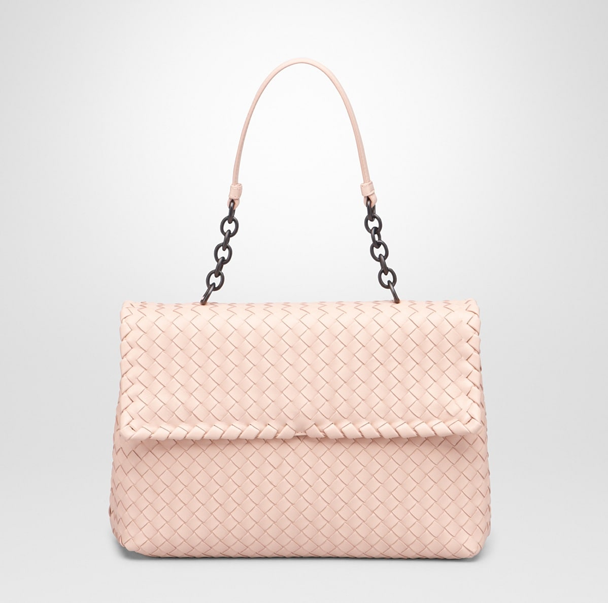 648fca15c9 Bottega Veneta Flamingo Intrecciato Nappa Olimpia Large Bag - Cruise 2015