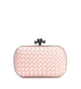 Bottega Veneta Pink Knot Clutch Bag - Cruise 2015