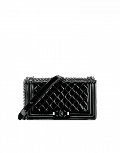 Chanel Black on Black Acrylic Boy Flap Bag - Cruise 2015