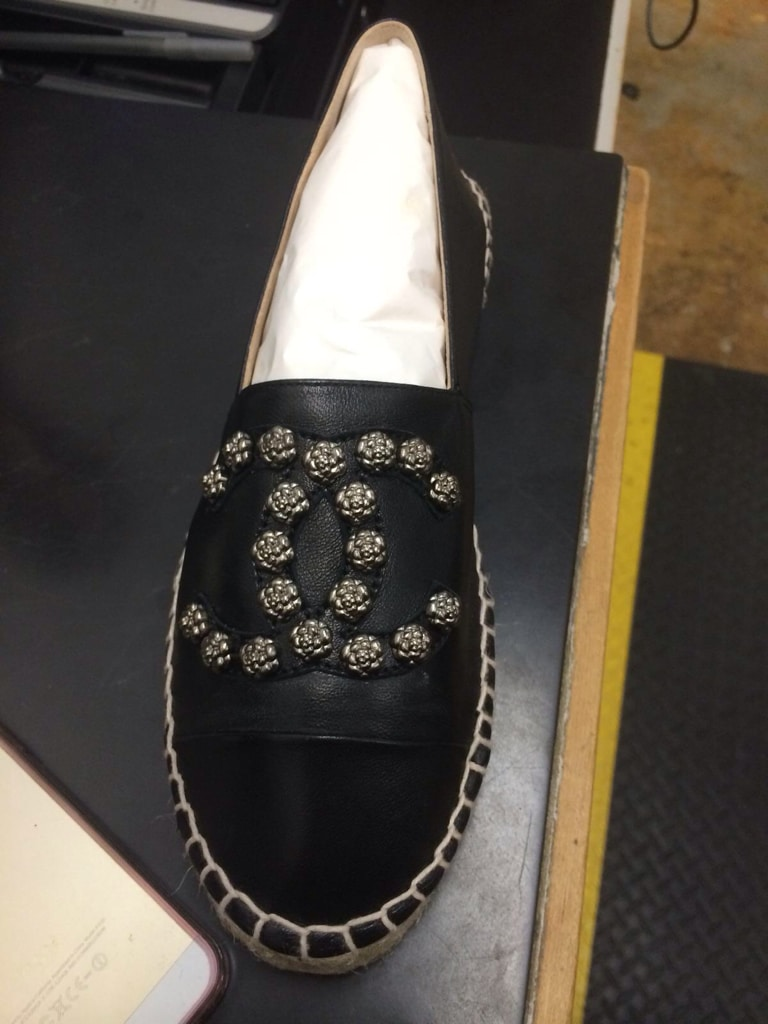 Chanel Cruise 2015 Espadrilles Feature Camellia Studs And