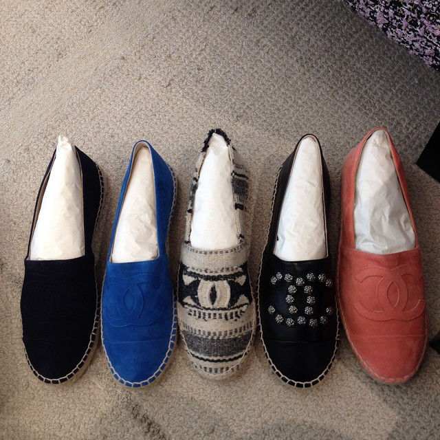 Chanel Cruise 2015 Sneakers Chanel Cruise 2015 Espadrilles
