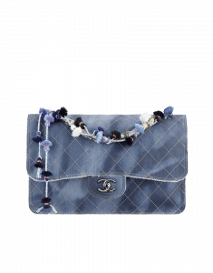 Chanel CC Denim Flap Jumbo Bag - Cruise 2015