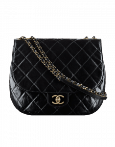 Chanel Large Messenger Flap Bag in Aged Calfskin - Cruise 2015