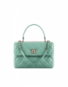 Chanel Light Green Trendy CC Bag - Cruise 2015
