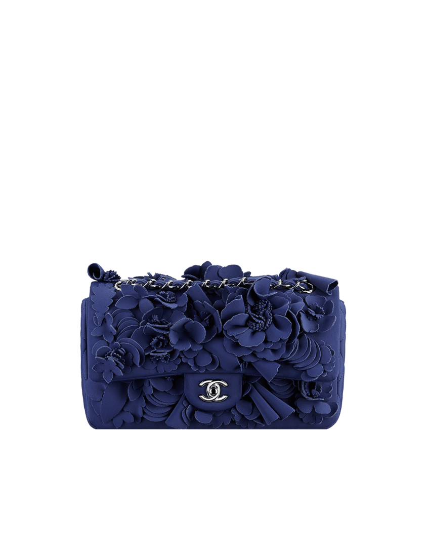 Chanel Flower Handbag - HandBags 2018