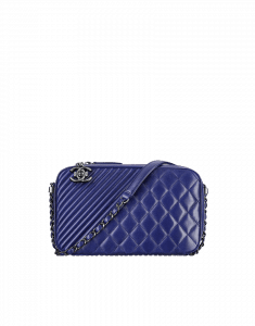 Chanel Navy Large Coco Boy Large Bag - Cruise 2015
