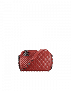 Chanel Red Coco Boy Small Bag - Cruise 2015
