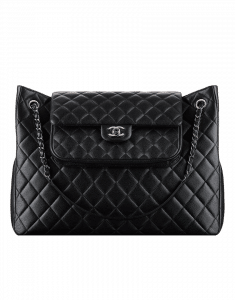 Chanel Shopping Tote with Small Flap Attached - Cruise 2015