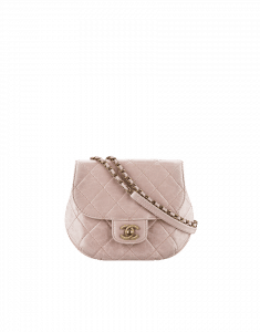 Chanel Small Beige Calfskin Messenger Bag - Cruise 2015