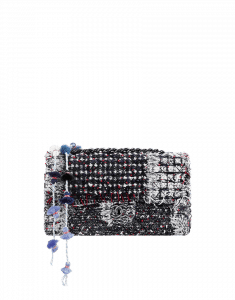 Chanel Tweed Pompom Flap Bag - Cruise 2015