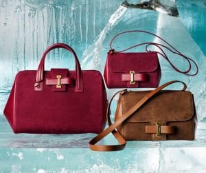 Delvaux Berry Simplissime Boston:Simplissime City Mini and Wood Simplissime City Bags - Fall 2014