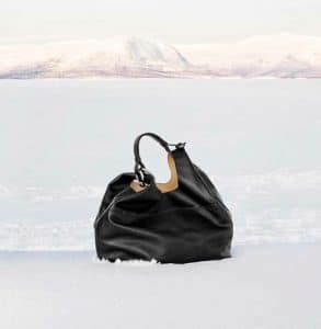 Delvaux Black Givry Hobo GM Bag - Fall 2014