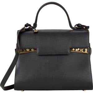Delvaux Black Tempete GM Bag