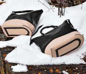 Delvaux Noir/Nude Every D Hobo and Tote Bags - Fall 2014