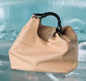 Delvaux Nude Givry Hobo PM Bag - Fall 2014