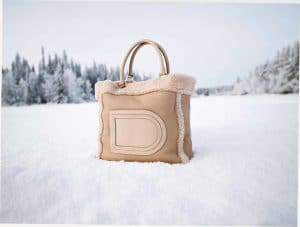 Delvaux Nude Louise Satchel Bag - Fall 2014