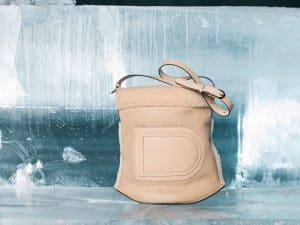 Delvaux Nude Pin Bag - Fall 2014