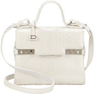 Delvaux Pearl Python Tempete Micro Bag