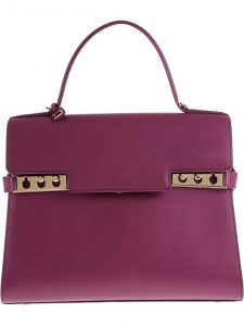 Delvaux Purple Tempete GM Bag
